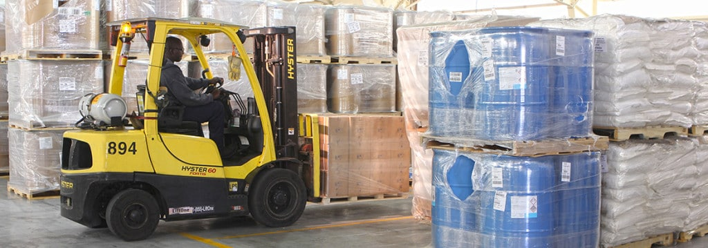 Colonial Chemical Solutions AIB Certified warehouse