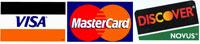 Visa Mastercard Discovercard