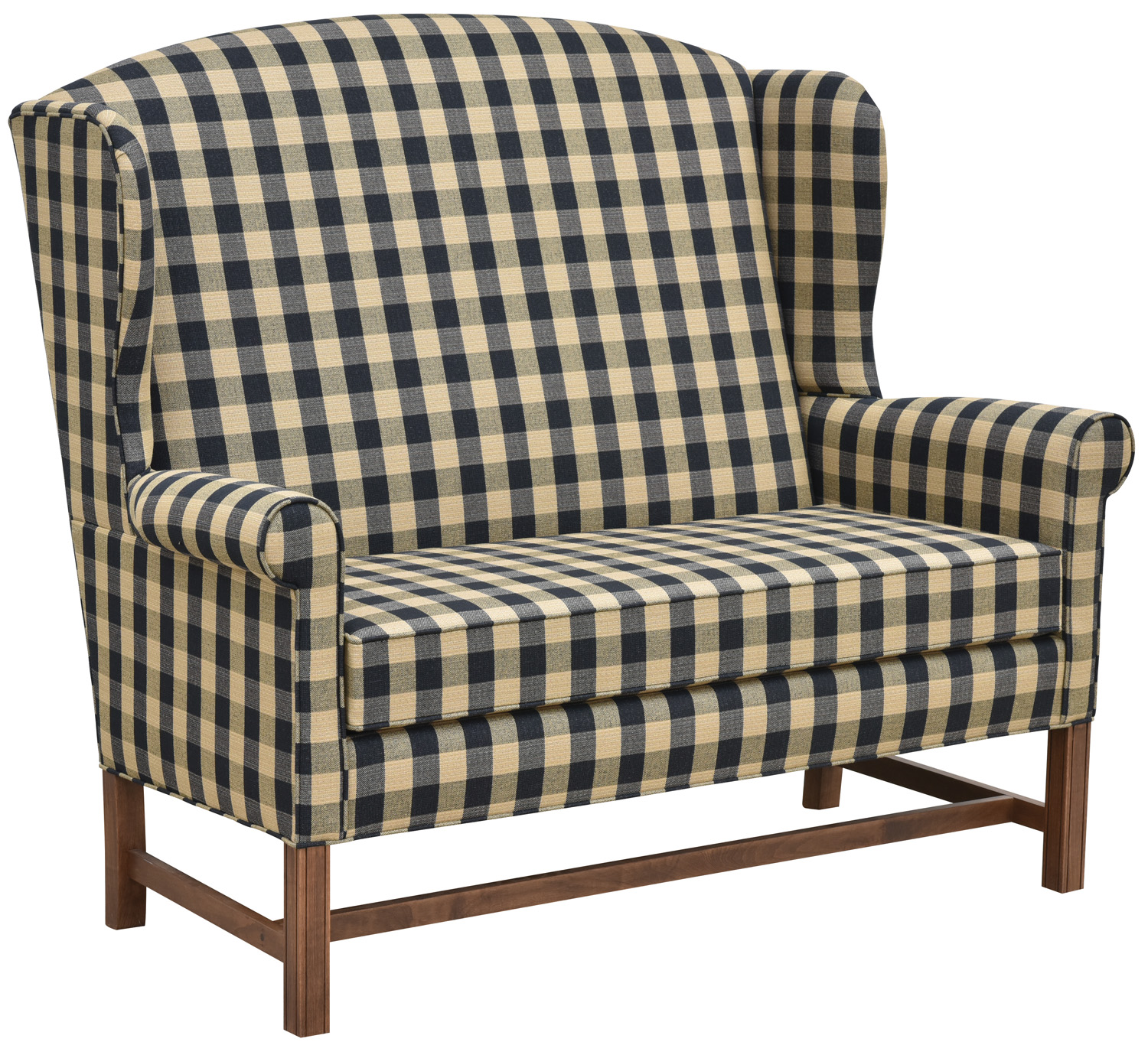 colonial wingback sofas sectional sofa ebay laurel ridge wing chair housecolonial house