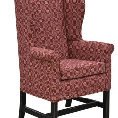 Colonial Wingback Sofas Castleton Sofa Library Wing Chair Housecolonial House