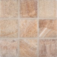 Giallo Crystal Onyx 4x4 Tumbled Tile | Colonial Marble ...