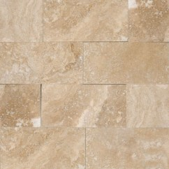 Tuscany Kitchen Faucet Cheap Island Ideas Ivory Travertine 3x6 Honed And Beveled Tile | Colonial ...