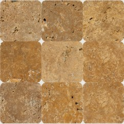 Tuscany Kitchen Faucet Sets On Sale Gold 4x4 Tumbled Tile | Colonial Marble & Granite