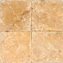 Tuscany Kitchen Faucet Professional Home Appliances Gold 6x6 Tumbled Tile | Colonial Marble & Granite