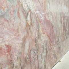 Glass Tile Kitchen Countertop Cart White Volcano Fusion Quartzite | Colonial Marble & Granite