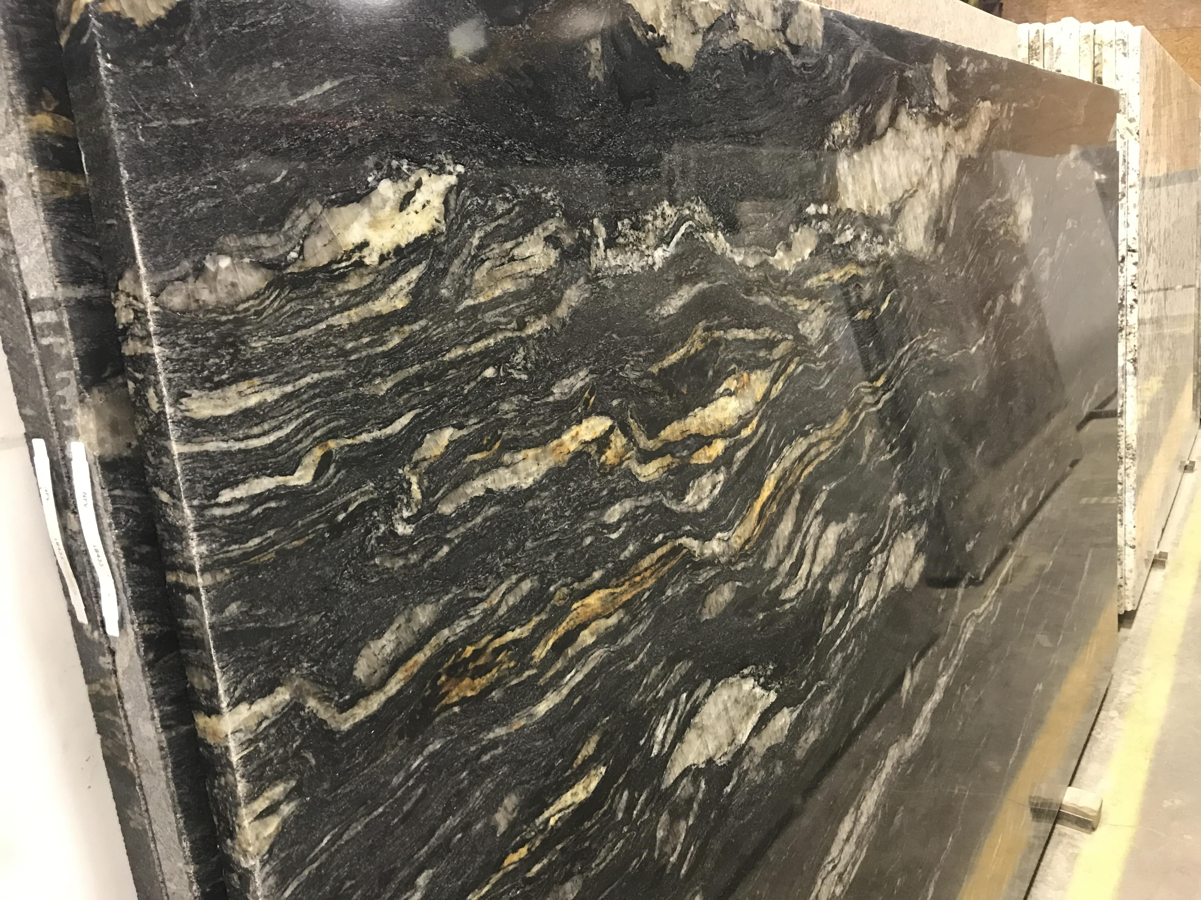 gold kitchen faucet front 5th wheel cosmic black granite | colonial marble &