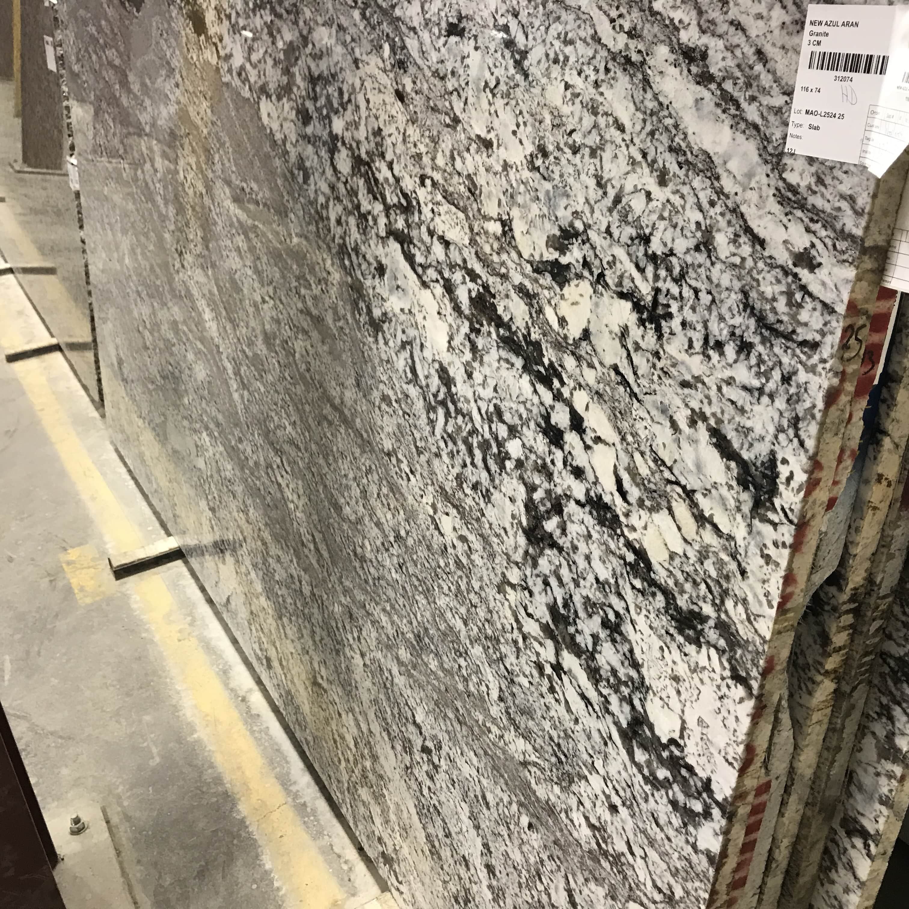 New Azul Aran Granite  Colonial Marble  Granite