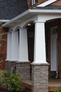 Colonial Pillars Curb Appeal Counts