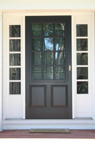 StormScreen Doors  Colonial Shutterworks