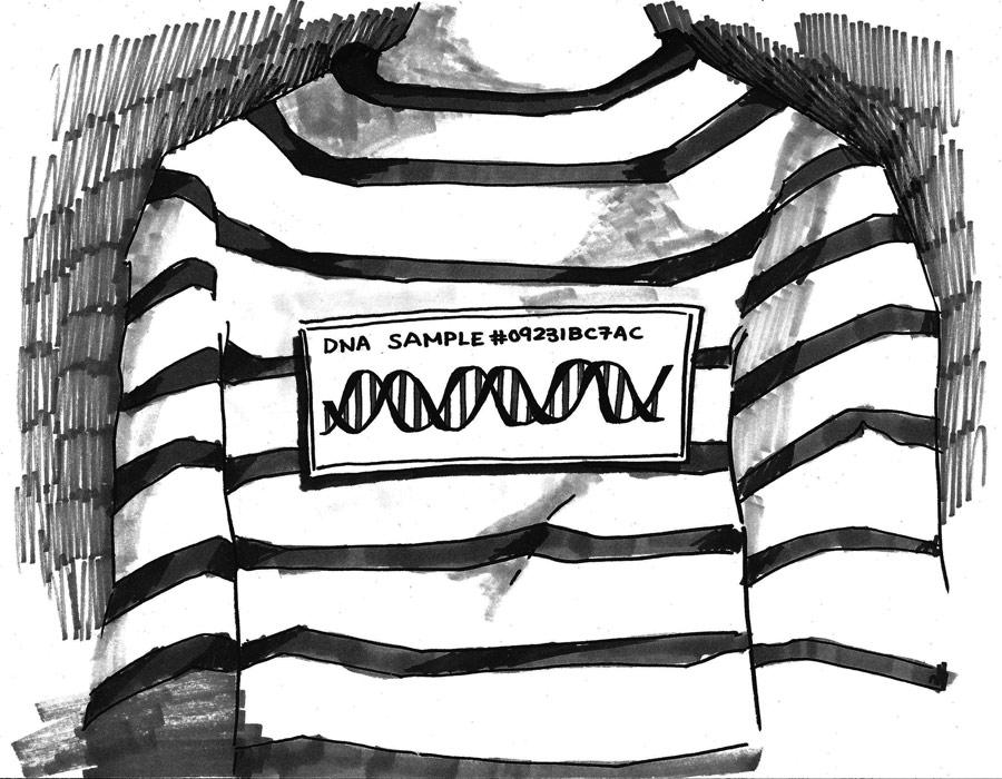 Sul test del DNA in ambito forense (da Forensic DNA