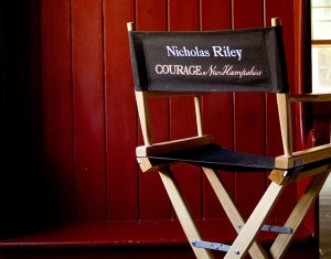 Directors Chair On Set