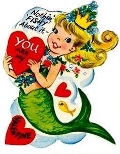Valentines for Mermaids