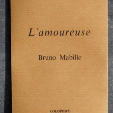 Couverture de l'Amoureuse, poésie de Bruno Mabille