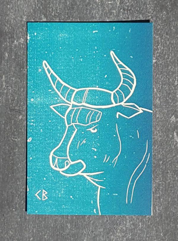 taureau signe astrologique zodiaque recto