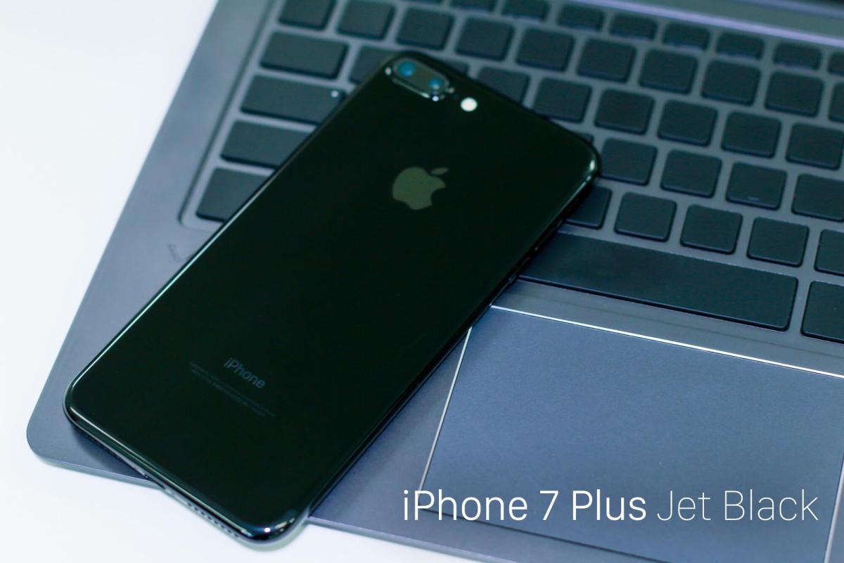 デュアルカメラになった。iPhone 7 Plus ジェットブラック 256GB ゲット