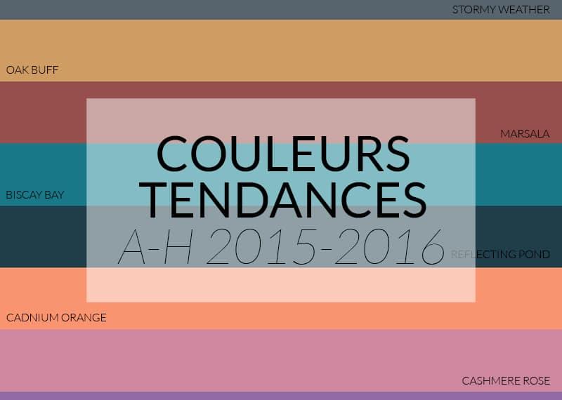 Les Couleurs Tendances Automnehiver 20152016  Colormania