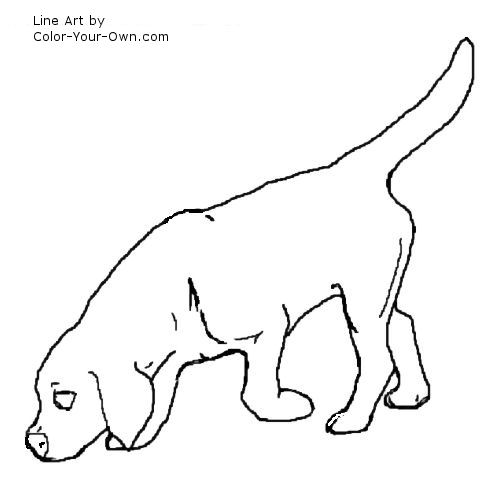 beagle coloring pages # 79