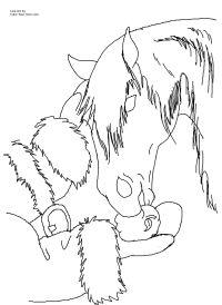 western christmas coloring pages | Ausmalbilder Pferde Western | Ausmalen macht Spa