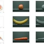 자연적으로 친숙한 물체의 기억색 : 표면 질감과 3 차원 모양의 효과