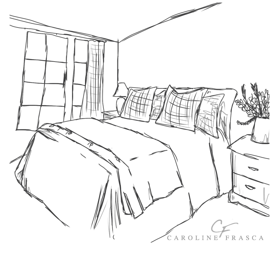 Free Coloring Pages Of Bedroom