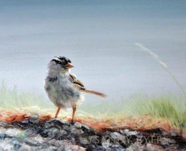 Trusted Wings pastel painting