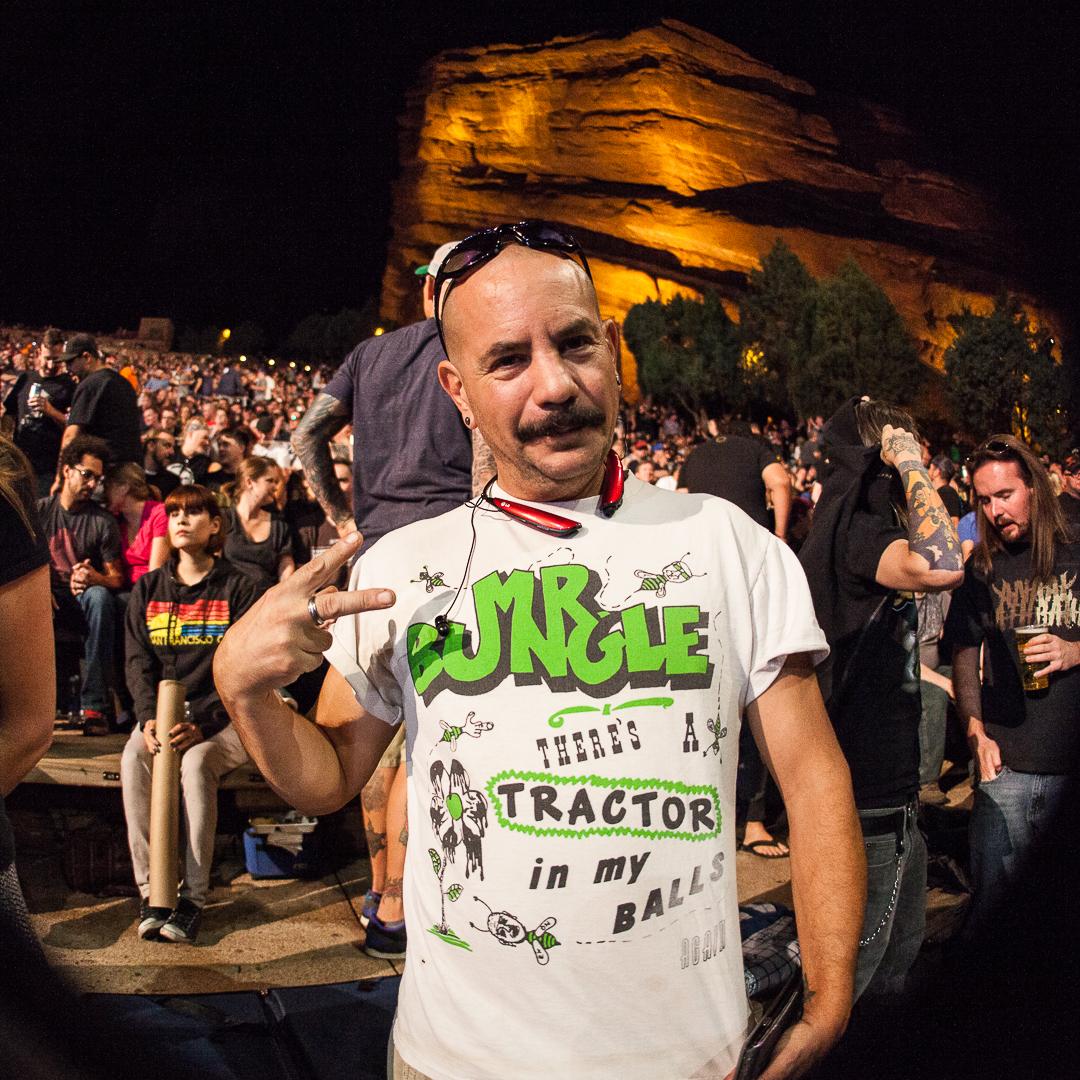 Concert TShirt Playlist  Volume 01  Faith No More Sept 8 2015 Red Rocks Amphitheatre