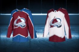 avalanche jerseys