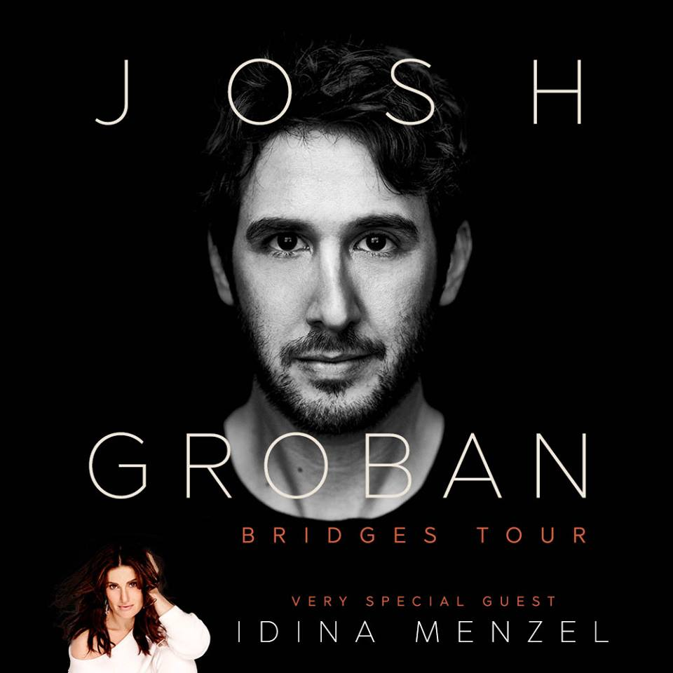 Josh Groban AND Idina Menzel Are Coming to D.C.!!