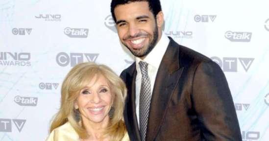 Drake and his mom, courtesy of narcity.com
