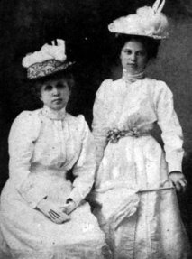 Flavia Camp Canfield and Dorothy Canfield Fisher, courtesy of findagrave.com