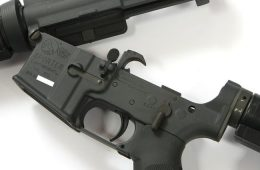 AR-15 upper and lower receiver