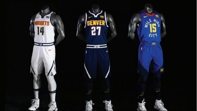Denver Nuggets Unveil New Jerseys ... Again cc72ee387
