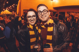 harry potter-themed beer festival