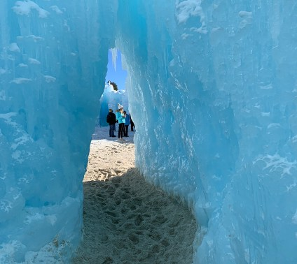 Dillon Ice Castles, courtesy of Jesse Waldron