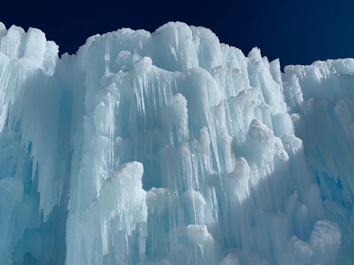 Dillon Ice Castles, courtesy of Jesse Waldron