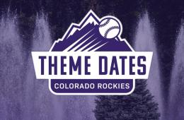 colorado rockies theme dates