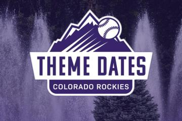 colorado rockies theme dates