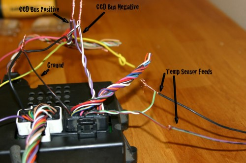 small resolution of here are the specific wires that you will need to use for the zj bcm