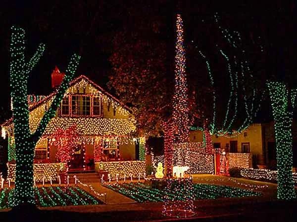 Christmas Lights Pasadena