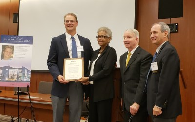 Wells A. Messersmith, MD, recipient of Michaele C. Christian Oncology Development Award and Lecture