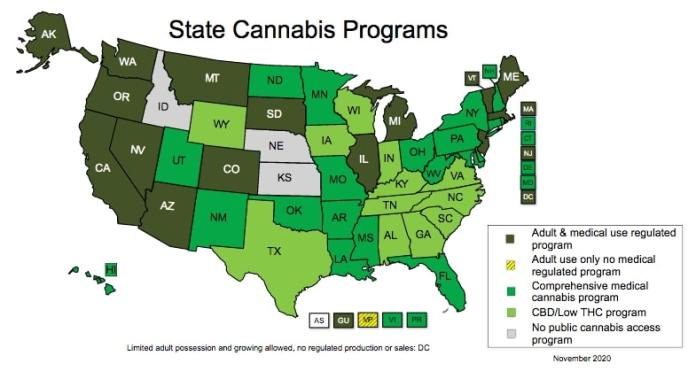 state cannabis programs