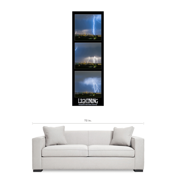 thunderstorm Lightning panorama art