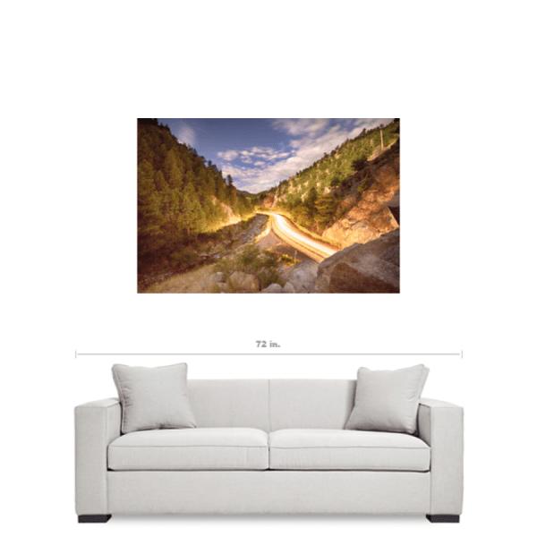 Boulder Canyon Colorado Art Prints