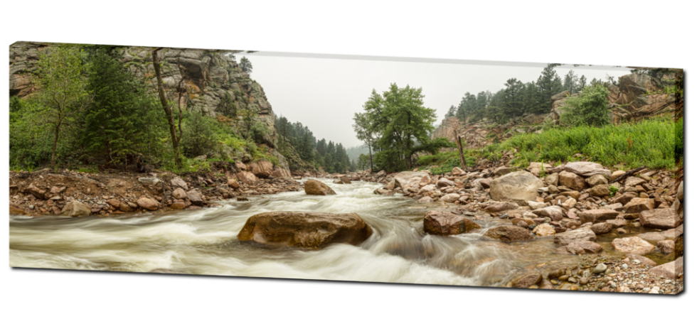 fishermens panorama canvas art
