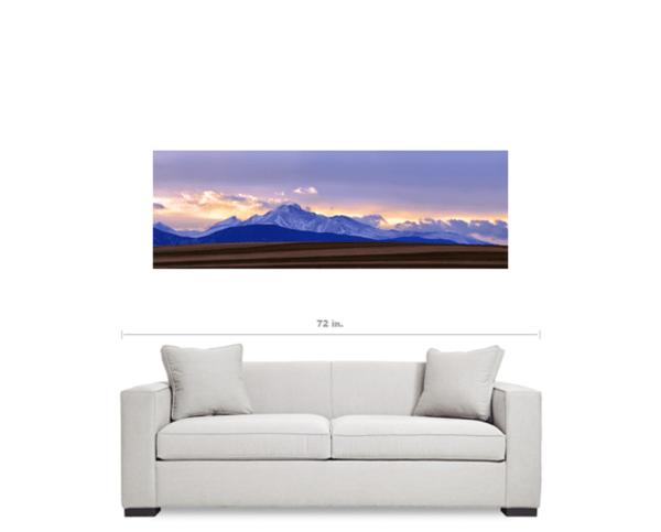 colorado canvas panorama art