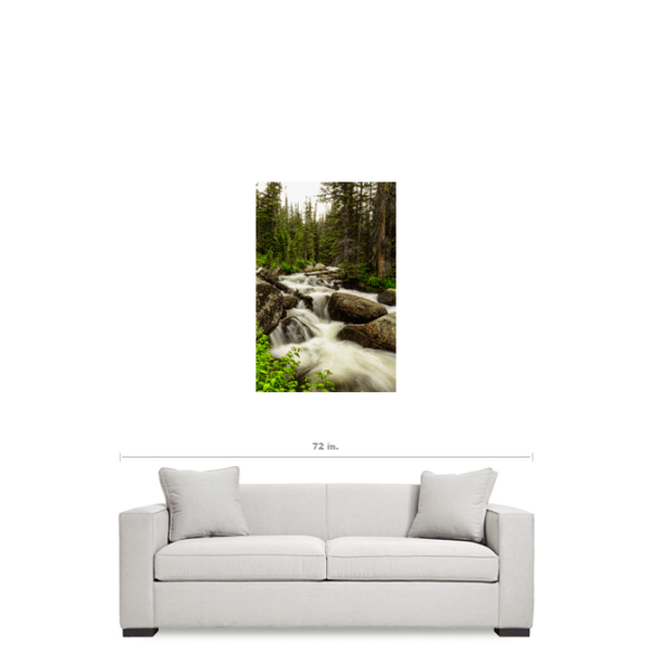 "Colorado Nature's Waterworks 24""x36""x1.25"" Premium Canvas Gallery Art Wrap"