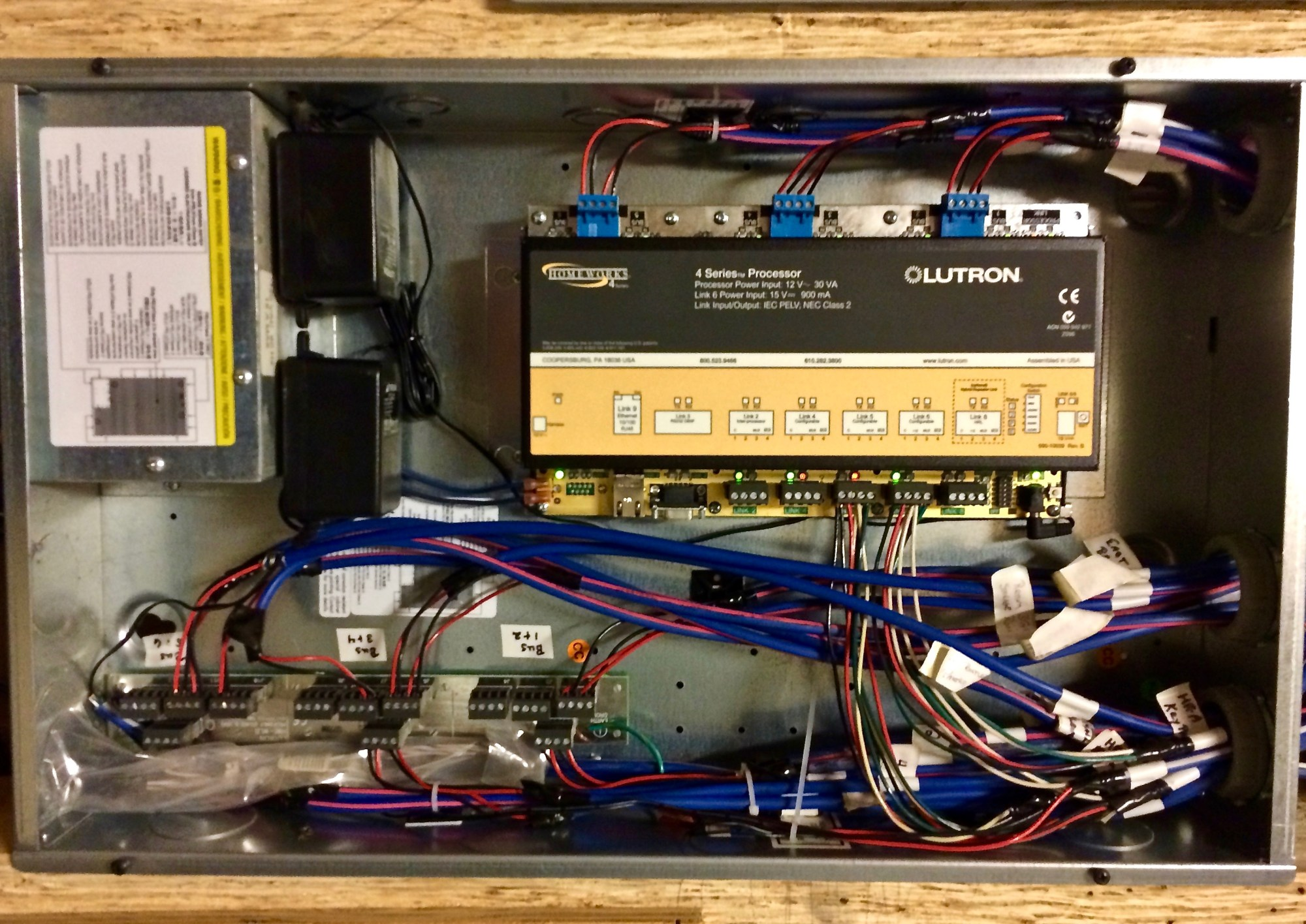 hight resolution of lutron controls system wiring home automation electrical 3