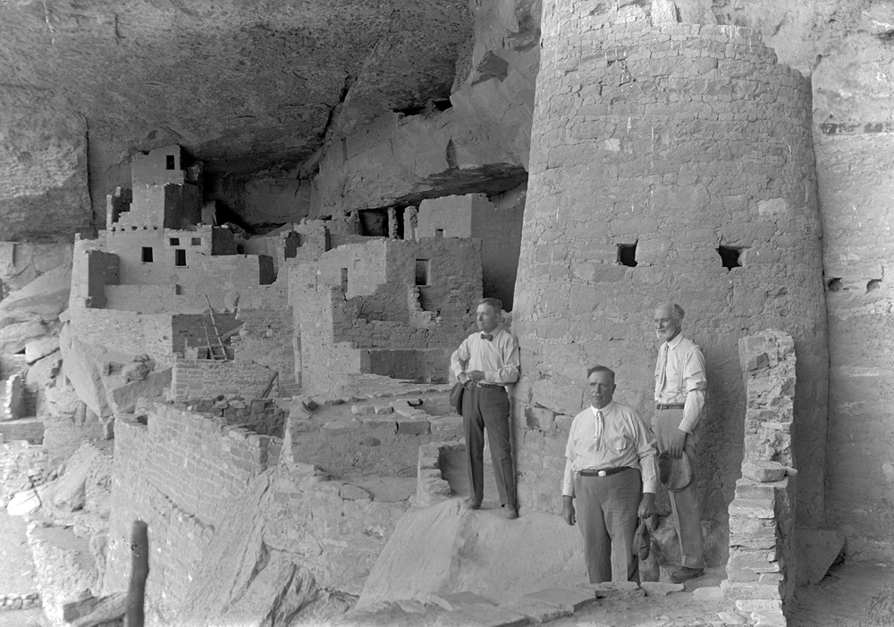 John D Rockefeller Jr at Cliff Palace  Images
