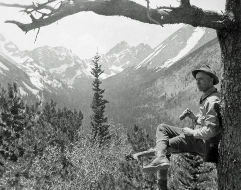 One hand can lift a soul; Us Forest Service In Colorado Articles Colorado Encyclopedia