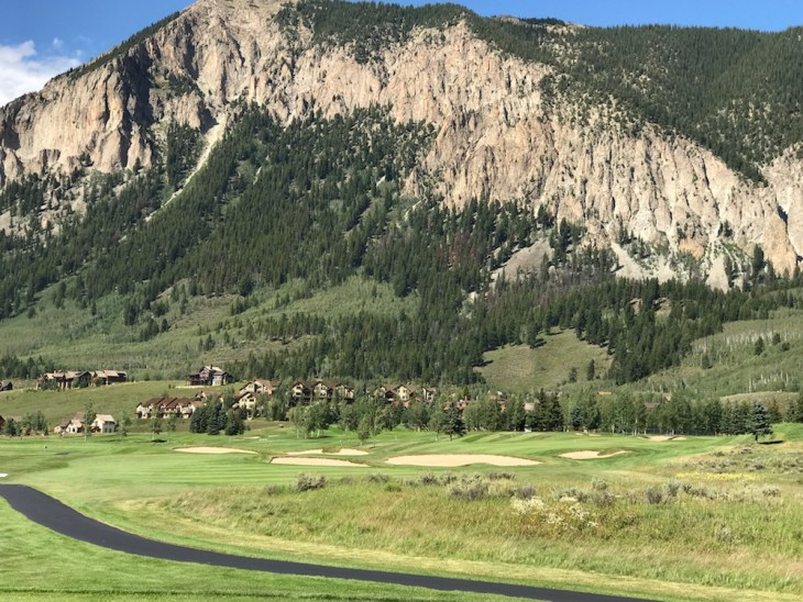 Crested Butte no.9 fairway